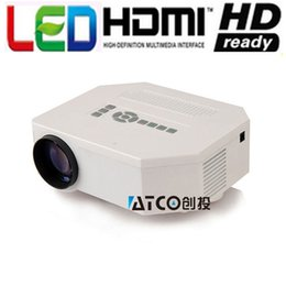 Used bUsiness projectors online shopping - Projector Full HD Mini Projectors Video Home use LED Pico Projector Multimedia Home Theater
