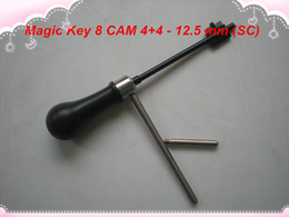 magic pick tool UK - 2019 FREE SHIPPING HIGH QUALITY NEW PRODUCT Magic Key 08 for CAM 4+4, Boda-428, Abloy- 12.5mm(SC) master key decoder locksmith tools