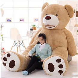 Huge bear doll canada best selling huge bear doll from top sellers 260cm stuffed teddy bear big large huge brown plush stuffed soft toy kid children doll girl christmas gift publicscrutiny Choice Image