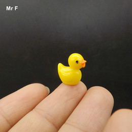 $enCountryForm.capitalKeyWord Canada - Cute Little Yellow Duck Dollhouse Model Doll House Decor Resin Crafts Action Figures Kid Teaching Aids