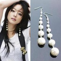 $enCountryForm.capitalKeyWord Canada - Long Earrings Pearl Dangle Women Jewelry from india bohemian boucle d'oreille pendantes brincos