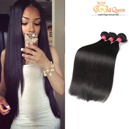Grace hair products online shopping - 8A Grade Cheap Brazillian Straight Beauty Grace Hair Products Cheap Brazilian Human Hair Weave Brazilian Hair Bundle Deals Natural Color