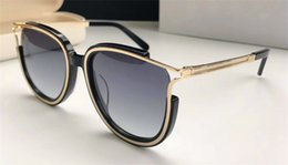 goggle protection 2019 - New fashion designer sunglasses cat eye hollow frame simple bestselling style top quality uv 400 protection eyewear with