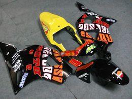 $enCountryForm.capitalKeyWord NZ - 23colors+Gifts black orange yellow ABS Fairing For honda CBR954RR 2002-2003 CBR900 954RR Aftermarket Motorcycle