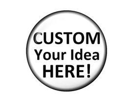 Großhandel Persönlichkeit 12/18 / 20mm Glas Druckknopf für Charme Popper Armband Halskette Schmuck Machen DIY Custom Funding