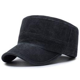 China King Star Classic Mens Adjustable Military Style Flat Cotton Hats Summer Sun Visor Baseball Cap Golf Outdoor Sports Trucker suppliers