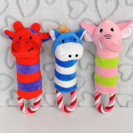 $enCountryForm.capitalKeyWord NZ - Pet Toys Dog Puppy Toy Plush Sound Squeaker Squeaky Animal Shape Chew Toy