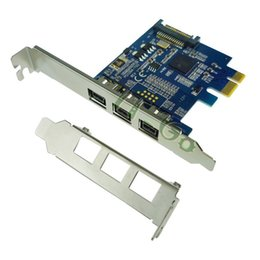 $enCountryForm.capitalKeyWord Canada - PCIE Combo 3x 1394b Firewire Ports PCI-Express Controller Card, 1394 card TI Chipset sata power supply with low bracket profile