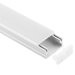 $enCountryForm.capitalKeyWord UK - led aluminium profile,1m per piece,LED Aluminum extrusion profile for led strips with milky diffuse cover or transparent cover SN1609