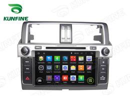 car video screen for rear 2019 - Octa Core 2GB RAM Android 6.0 Car Stereo Car DVD GPS Navigation Multimedia Player for Toyota Prado 2014 Radio Headunit c