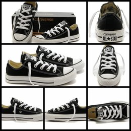 7f5228448a8e13 2017 Converse Chuck TayLor All Star Core Black White Shoes Low Top For Men  Women Casual Canvas Shoes Running Converses Sneakers Classic Shoe