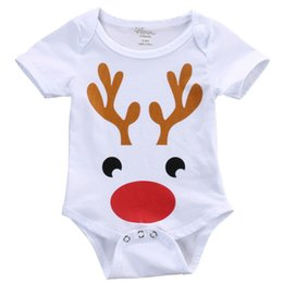 $enCountryForm.capitalKeyWord NZ - Mikrdoo Christmas Kids Romper Baby Boy Girl Clothes Toddler Jumpsuit Infant Outfits Newborn Playsuit Deer Clothing Cotton Costume Set 0-18M