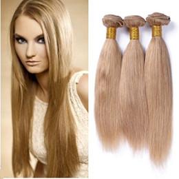 $enCountryForm.capitalKeyWord Canada - 8A Ruma Hair Honey Blonde 3 Bundles Unprocessed Straight Hair Human Hair Weaves Virgin 18 Inch 100g pc Cheap Factory Price