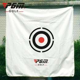 hit tools 2019 - Wholesale- 150*150CM Golf Practice Net Hit Golf Training Aid Special Canvas Cloth Adjustable Tool cheap hit tools