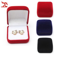 $enCountryForm.capitalKeyWord Canada - Free Shipping Big Sell 5Pcs Black Red Blue 3 Color Available Blocked Wedding Jewelry Ring Storage Gift Packing Box