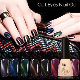 $enCountryForm.capitalKeyWord Canada - Wholesale- FOCALLURE Hot Sale Cat's Eye Gel Polish Soak off Decals Nails Manicure Art lasting UV Gel Nail 3D Magnetic Cat Eye