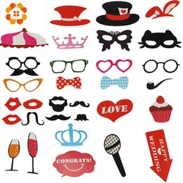 $enCountryForm.capitalKeyWord NZ - 31pcs Mustache On A Stick Wedding Party Photo Booth Props Photobooth Funny Masks Bridesmaid Gifts For Wedding Decoration