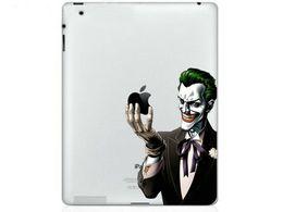 Apple Laptop Mini UK - Hot Originality Clown series Vinyl Tablet PC Decal Color Sticker Skin for Apple iPad 1  2   3   4   Mini Laptop Skins Sticker