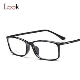new spectacles frames for men 2019 - Wholesale- New 2017 Glasses Frame Ultra-light Imitation Tr90 Spectacle Eye Glasses Frames For Women Men Optical Frame Le