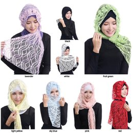 $enCountryForm.capitalKeyWord Canada - 2017 Muslim hijab scarf new style brand scarf latest lace hijab fashion scarf women Hijabs Scarves