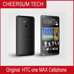 Unlocked Android Mobile Phones Canada - Original HTC ONE MAX Unlocked Mobile phone Quad-core 2GB RAM 32GB ROM Android 5.9' 'TouchScreen WIFI Free Shipping