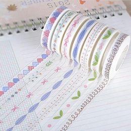 $enCountryForm.capitalKeyWord NZ - Wholesale- 2016 1pcs Stationery Dividing Line Japanese Paper Washi Tape Tear Off Writeable Paper Tape Decorative Adhesive Tape Scrapbook S