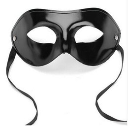 mens ball masks UK - Mens Masquerade Ball Mask Ventian Costume Party Eye Mask Fancy Dress