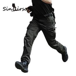 Venta al por mayor de SINAIRSOFT IX7 Tactical Outdoor Man Hiking pants Camuflaje Ejército Cargo Pantalones Hombres Pantalones de Combate Pantalones Trekking