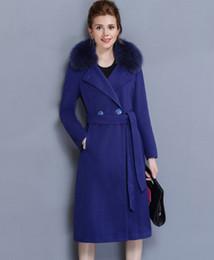 Long Fur Woolen Ladies Coat Australia | New Featured Long Fur ...