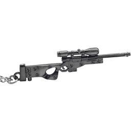 Sniper Pendants Canada - Hot Game Weapon Sniper Rifle Necklaces Arms Gun Mode Pendant 3D Imitation Gun Necklace 2017 Fashion Jewelry Wholesale