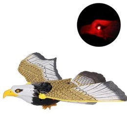 $enCountryForm.capitalKeyWord Canada - New style hot hanging line Eagle electric bird electric eagle eyes light with sound toys wholesale