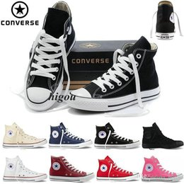 $enCountryForm.capitalKeyWord Canada - 2019 New Converse Chuck Tay Lor All Star Shoes For Men Women High Tops mens Casual Canvas Brand Converses Sneakers Classic Cheap Shoes