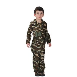 $enCountryForm.capitalKeyWord Canada - Shanghai Story children stage army costumes Halloween costume special forces handsome soldier jacket pants camouflage clothing