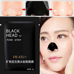 Black Pores Nose NZ - 2017New Suction Black Mask Face Care Mask Cleaning Tearing Style Pore Strip Deep Cleansing Nose Acne Blackhead Facial Mask Remove Black Head