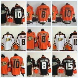 ... 8 Teemu Selanne Jerseys Hockey Anaheim Ducks 15 Ryan Getzlaf 10 Corey  Perry 17 Ryan Kesler Anaheim Ducks Mens ... ec8dc7719