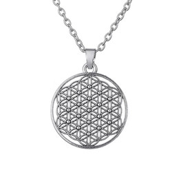 China Myth Love Knot Flower of Life Egyptian Style Mandala Necklace Three Kind of Shapes for Choice for Men and Women Free Shipping suppliers