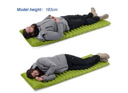 Air Camping Car Canada - Naturehike Ultralight Outdoor Air Mattress Moistureproof Inflatable Mat Cushion With TPU Camping Bed Tent Camping Sleeping Pad