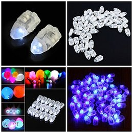 battery led lights paper lanterns NZ - LED Balloon Lamp Floral Light Luminous balloon led lights for Paper Lantern Wedding Birthday Party Decoration Home Decoration