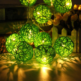 Discount outdoor christmas lights plug 2018 outdoor christmas discount outdoor christmas lights plug wholesale 35 rattans wicker balls fairy 47m led string mozeypictures Gallery