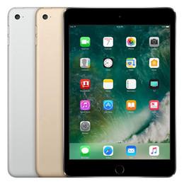 Tablet Refurbished Australia - Refurbished iPad mini 4 16GB 64GB Wifi Original Apple IOS Tablet A8 7.9 inch with Touch ID Tablet PC