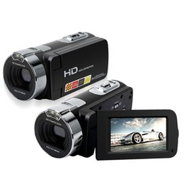"Tft Lcd Cmos UK - 2.7"" TFT LCD HD 1080P Digital Camcorder CMOS Max. 24MP Video Camera 16X Digital Zoom Shockproof 720P DV Recorder"
