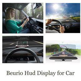 head hud 2018 - Car HUD Head Up Display Speed Warning GPS Navigation HUD Bracket Head Up Display For Smart Mobile Phone Car Stand Foldin
