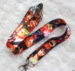 $enCountryForm.capitalKeyWord Canada - Wholesale Mixed 10 pcs Popular Cartoon ONE PIECE Mobile phone Lanyard Key Chains Pendant Party Gift Favors 0153