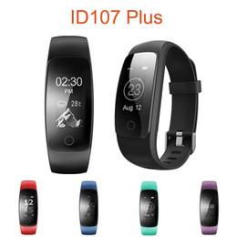 $enCountryForm.capitalKeyWord NZ - Wholesale- New Smart Bracelet ID107 PLUS HR Heart Rate Smart Band GPS Tracking Call SMS Alert Auto Sleep Monitor Sports Fitness Tracker