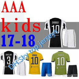 b0c341f76 ... Italy 2016 Away Jersey - Tribute 2006 Kids 2017 2018 DYBALA soccer  jerseys 17 18 Juventuses HIGUAIN BUFFON D. Costa MANDZUKIC Bernardeschi ...