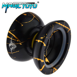 classic yoyo UK - New Fashion Magic yoyo N11 Professional advanced Aluminum YO-YO Classic Toys Gift For Kids Children