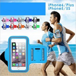 Wholesale For S8 Edge Case Iphone Waterproof Sports Running Armband Case Workout Armband Holder Pounch For Iphone Cell Mobile Phone Arm Bag Band