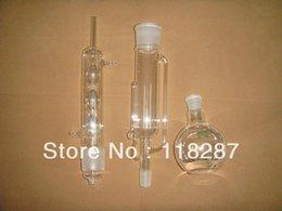 Großhandel Großhandel - 500 ml Soxhlet-Extraktor, Kondensator, Pumpschlauch und Flachkolben, ein Flachkolben, Laborglas