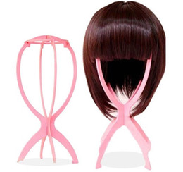 hair stand displays UK - Best Stand Holder Display Tool Folded Folding Head Stable Durable Wig Hair Hat Cap