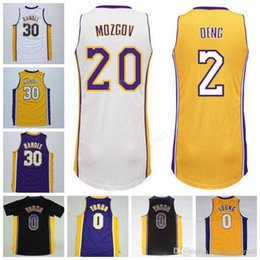 ... Men Printed 0 Nick Young Basketball Jerseys 30 Julius Randle 2 Luol  Deng 20 Timofey Mozgov 0 Nick Young Los Angeles Lakers adidas ... c4ad02946